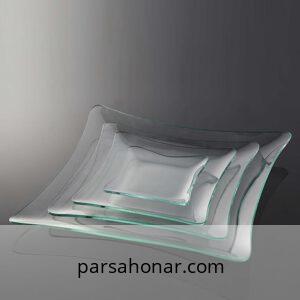 ظرف شیشه ای خام ویترای