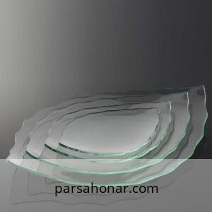 ظرف شیشه آناناسی ویترای