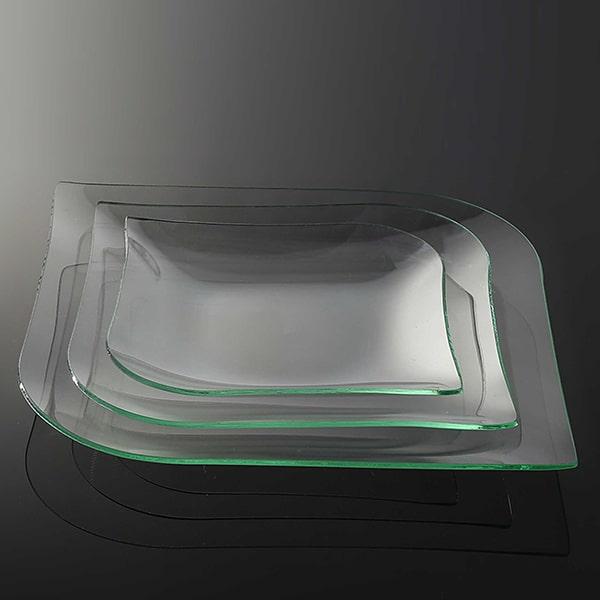 ظرف شیشه ای تزئینی