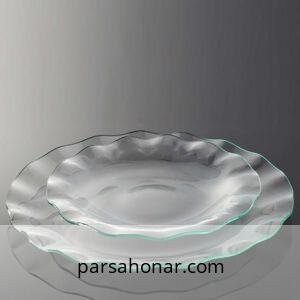 بشقاب شیشه ای ویترای