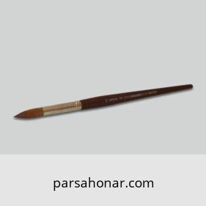 انواع سایز قلم مو